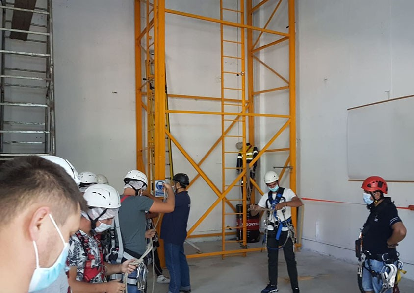 working at height training course